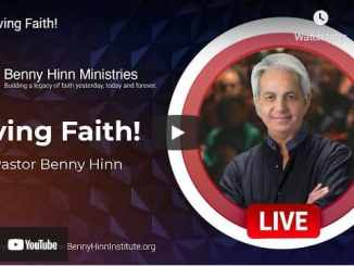 Pastor Benny Hinn Sermon - Living Faith