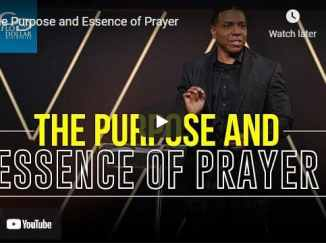 Pastor Creflo Dollar Sermon - The Purpose and Essence of Prayer