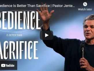 Pastor Jentezen Franklin Sermon - Obedience Is Better Than Sacrifice