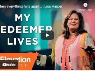 Pastor Lisa Harper - When everything falls apart