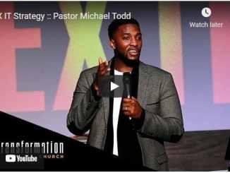 Pastor Michael Todd Sermon - EX IT Strategy