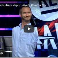 Pastor Nick Vujicic - God's Plan For You