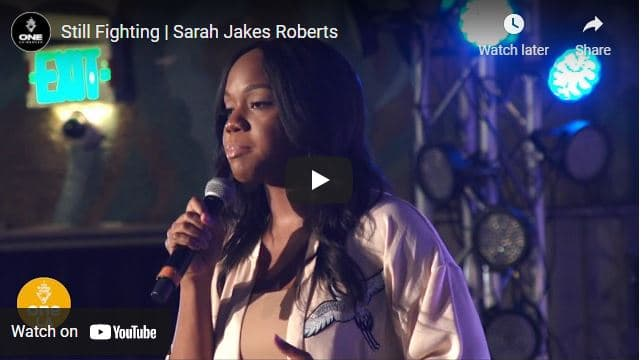 Pastor Sarah Jakes Roberts Sermon - Still Fighting