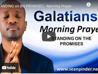 Pastor Sean Pinder Morning Prayer April 12 2021