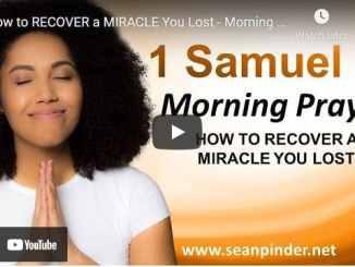 Pastor Sean Pinder Morning Prayer April 7 2021