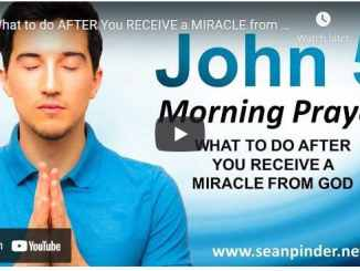 Pastor Sean Pinder Morning Prayer April 9 2021