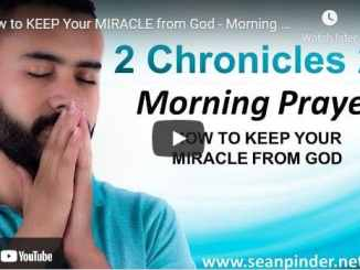 Pastor Sean Pinder Morning Prayer For April 6 2021