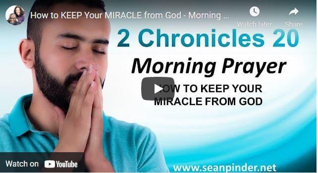 Pastor Sean Pinder Morning Prayer For April 6 2021