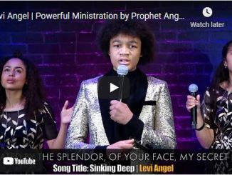 Powerful Ministration by Prophet Uebert Angel's Son, Levi Angel