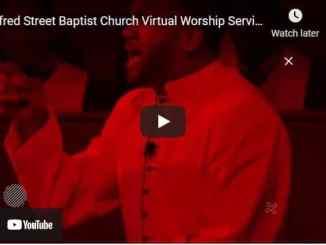 Alfred Street Baptist Church Sunday Live Service May 2 2021