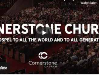 Cornerstone Church Sunday Live Service May 16 2021