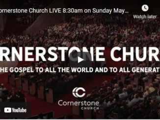 Cornerstone Church Sunday Live Service May 9 2021