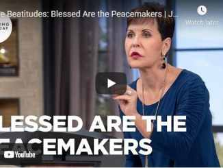 Joyce Meyer: The Beatitudes: Blessed Are the Peacemakers
