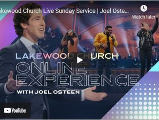 Lakewood Church Sunday Live Service May 23 2021