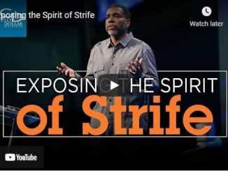 Pastor Creflo Dollar Sermon - Exposing the Spirit of Strife