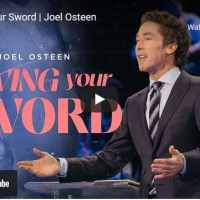Pastor Joel Osteen Sermon - Swing Your Sword