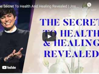 Pastor Joseph Prince - The Secret To Health And Healing Revealed