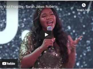 Pastor Sarah Jakes Roberts - Hey You! Fragility