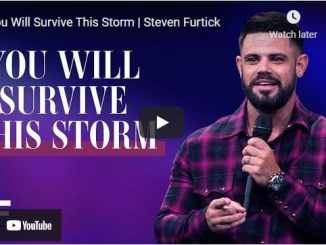 Pastor Steven Furtick Sermon - You Will Survive This Storm