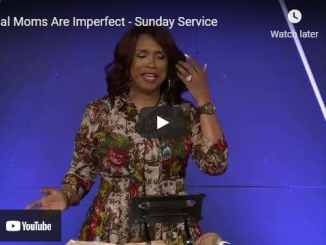 Pastor Taffi Dollar - Real Moms Are Imperfect