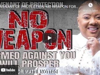 Prophetess Mattie Nottage Live Session - Covenant Of Protection