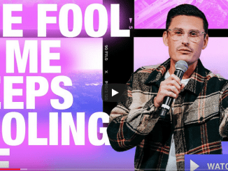 Chad Veach Sermons 2021 - The Fool In Me Keeps Fooling Me