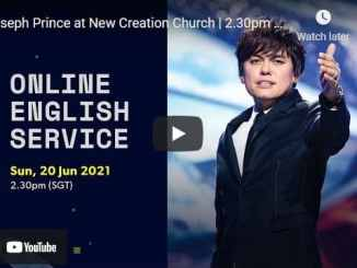 New Creation Church Sunday Live Service June 20 2021