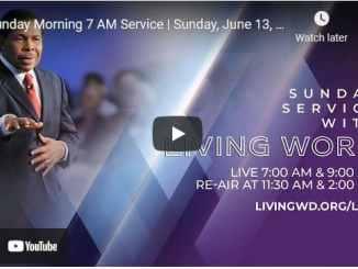 Pastor Bill Winston Sunday Live Service June 13 2021