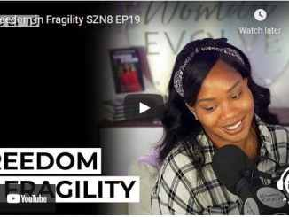 Pastor Sarah Jakes Roberts Message: Freedom in Fragility
