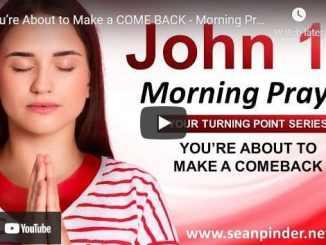 Pastor Sean Pinder Morning Prayer Session June 12 2021