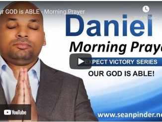 Pastor Sean Pinder Morning Prayer Session June 15 2021