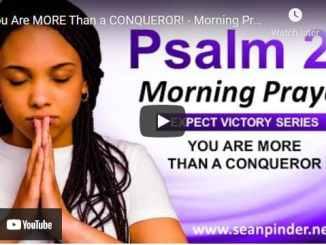 Pastor Sean Pinder Morning Prayer Session June 17 2021