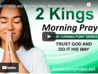 Pastor Sean Pinder Morning Prayer Session June 2 2021