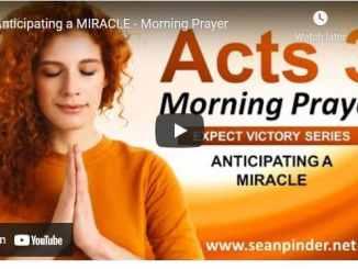 Pastor Sean Pinder Morning Prayer Session June 26 2021