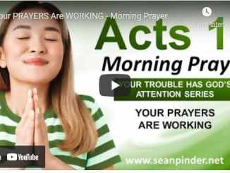 Pastor Sean Pinder Morning Prayer Session June 29 2021