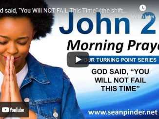 Pastor Sean Pinder Morning Prayer Session June 3 2021