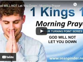 Pastor Sean Pinder Morning Prayer Session June 5 2021