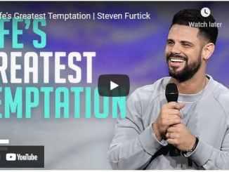 Pastor Steven Furtick Sermon: Life's Greatest Temptation