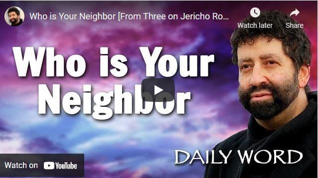 Rabbi Jonathan Cahn Sermon: Who is Your Neighbor