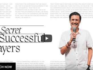 Chad Veach Sermons - The Secret To Successful Prayer