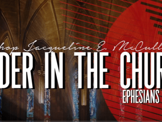 Bishop Jackie McCullough Sermons - Order in the Church