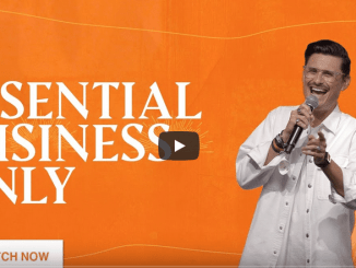 Chad Veach Sermons - Essential Business Only: The Holy Spirit
