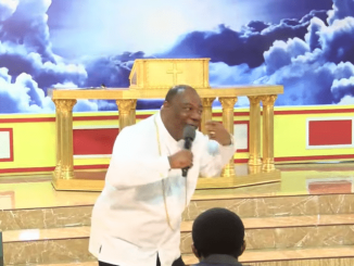 """The Action Chapel International Ministry, Ghana shares a rebroadcast of a message by Archbishop Duncan-Williams titled """"Breaking of altars""""."""