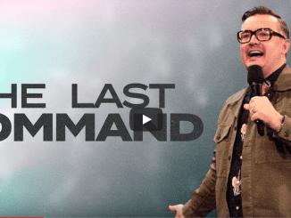 David Hall Sermons 2021 - The Last Command