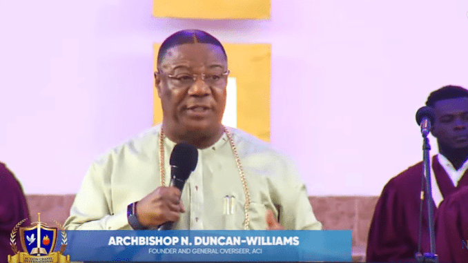 Archbishop Duncan-Williams Sermons 2021 - The Only True Model