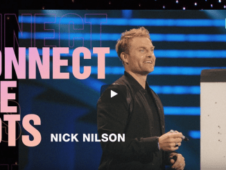 Pastor Nick Nilson Sermons - Connecting the Dots