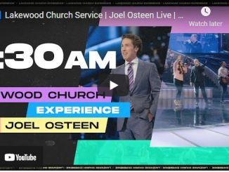 Lakewood Church Sunday Live Service July 18 2021