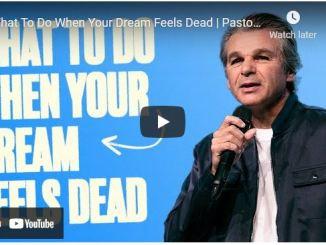 Pastor Jentezen Franklin: What To Do When Your Dream Feels Dead