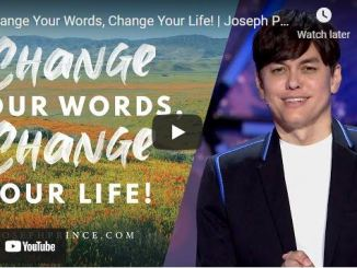 Pastor Joseph Prince Sermon: Change Your Words, Change Your Life!