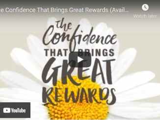 Pastor Joseph Prince Sermon: The Confidence That Brings Great Rewards